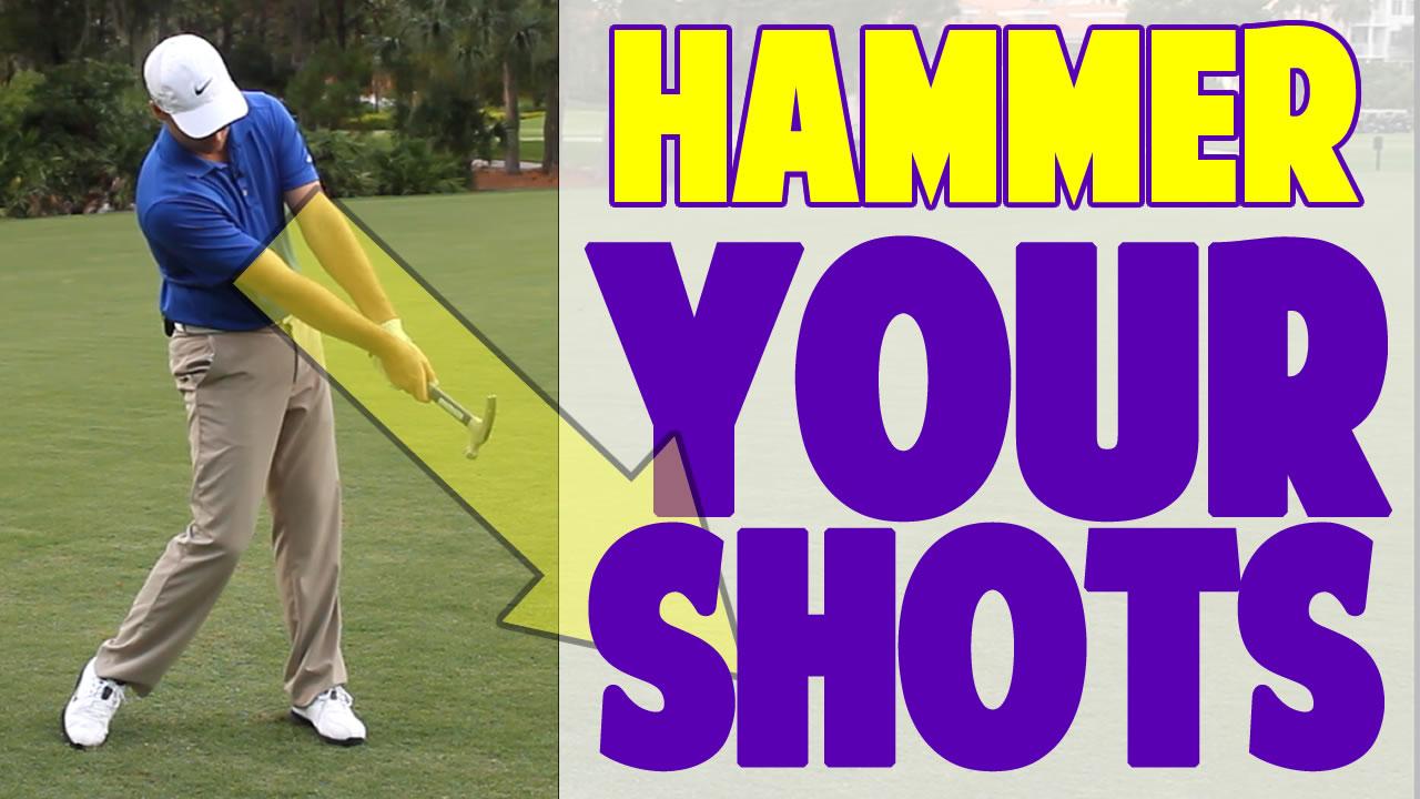 2.1 - golf swing power drill: hammer throw release • top speed golf