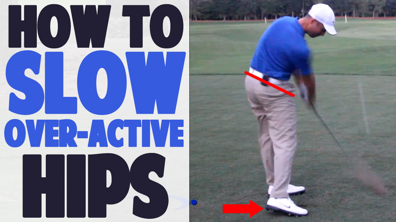 3 3 Golf Hip Turn: How to Stop Over Rotating • Top Speed Golf