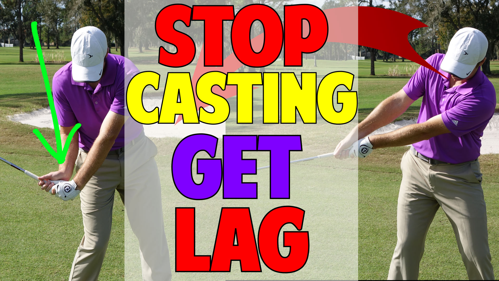 l002. how to stop casting and start getting lag • top speed golf