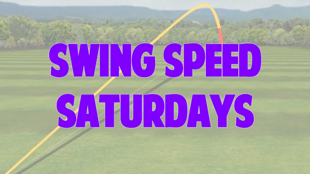 Swing Speed Saturdays Vault Picture