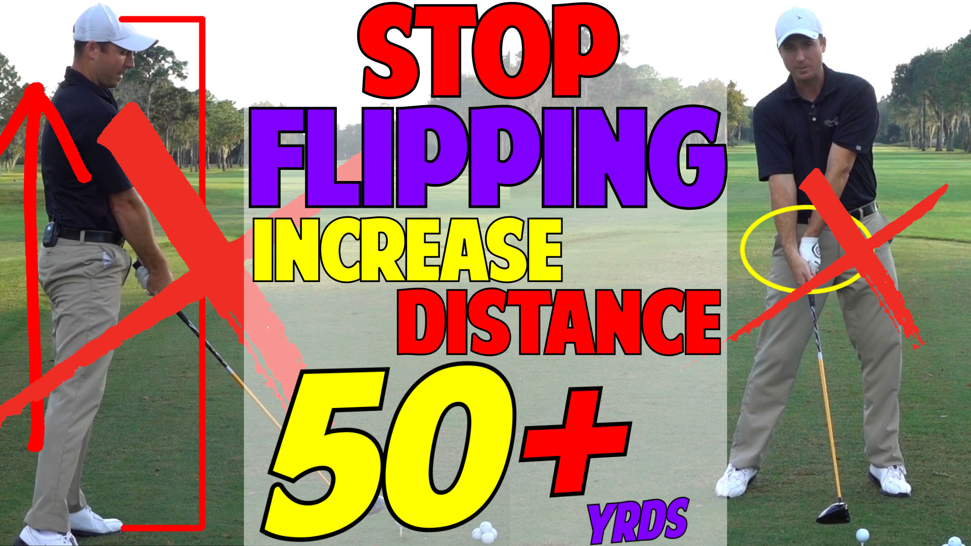 Increase Driver Distance | Stop Flipping