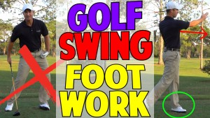 Golf Swing Footwork