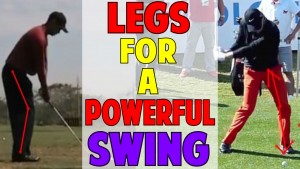 How to Use the Legs for a Powerful Golf Swing | Tiger Woods