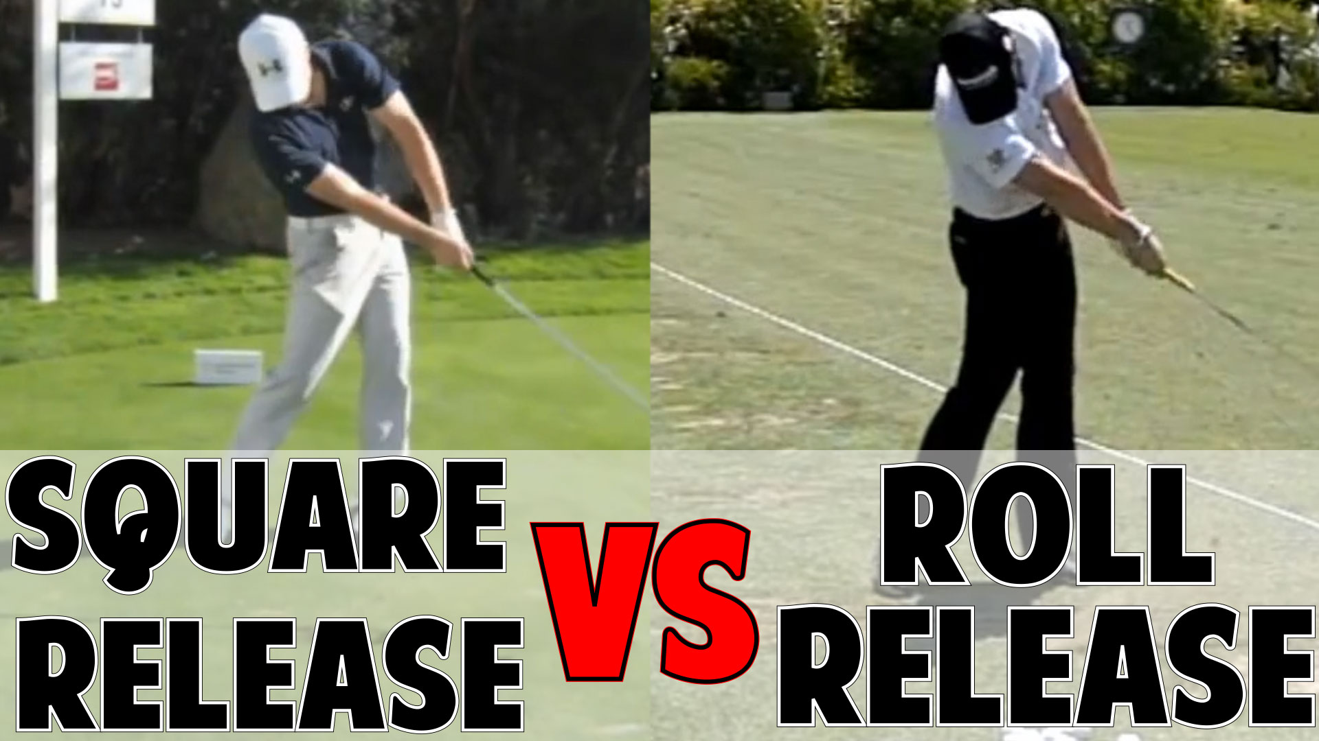 How To Release The Golf Club Square Vs Roll Release
