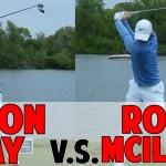 Jason Day vs. Rory Mcilroy Golf Swing