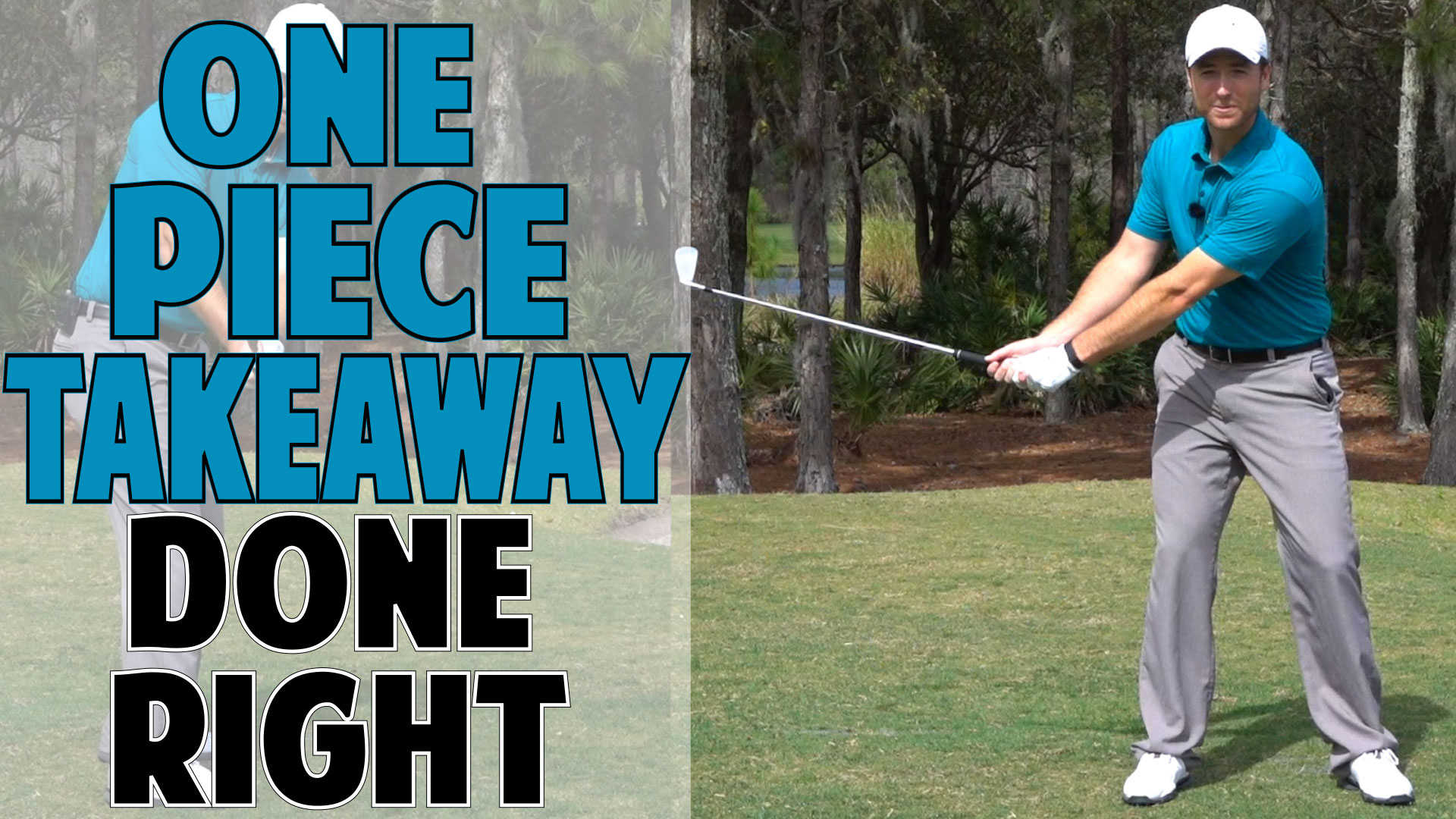 how to start the golf swing takeaway