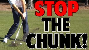 Stop Hitting Behind the Golf Ball