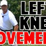 Golf Swing Left Knee Movement