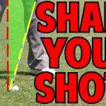 How to Shape Golf Shots Trick