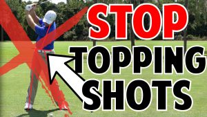 How to Stop Topping Golf Shots