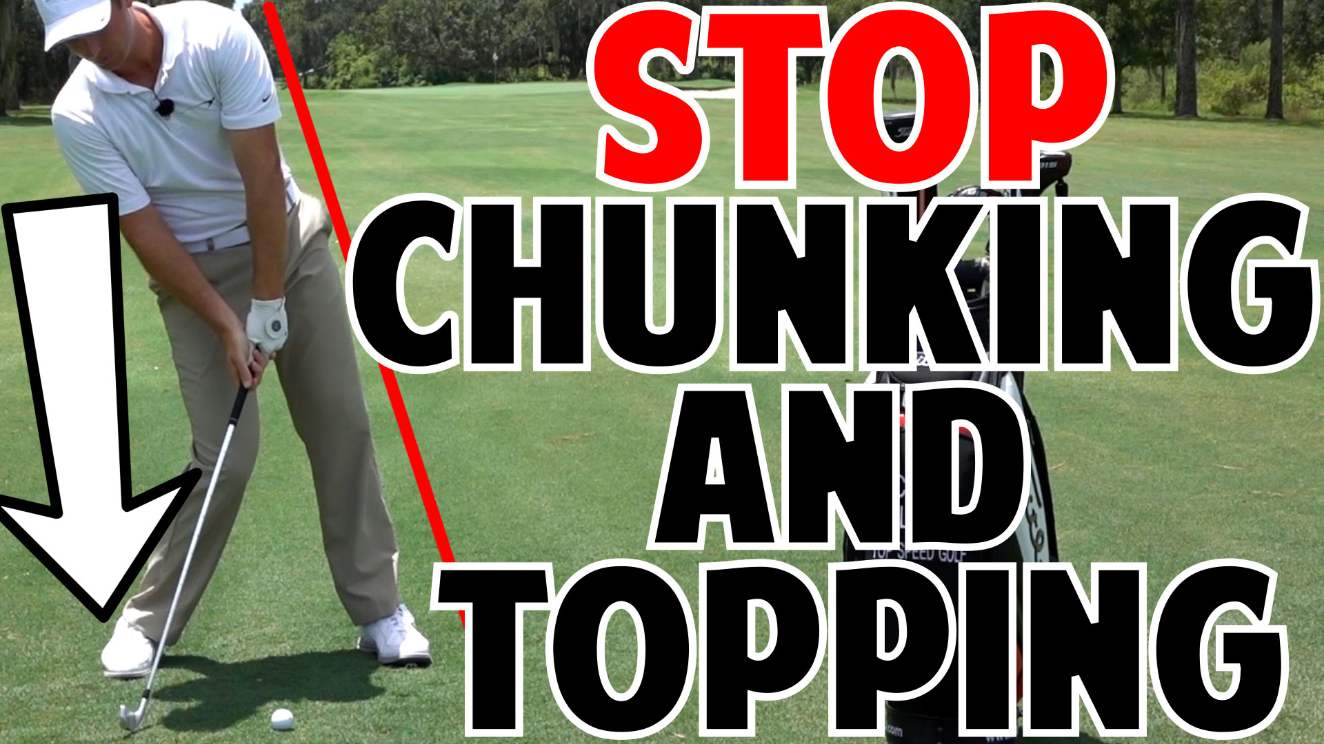 Stop Chunking And Topping Series Dot And Stick Drill