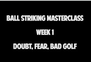 Audio Podcast Doubt Fear and Bad Golf
