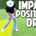 Golf Swing Impact Position Drill For Deadly ACCURACY!