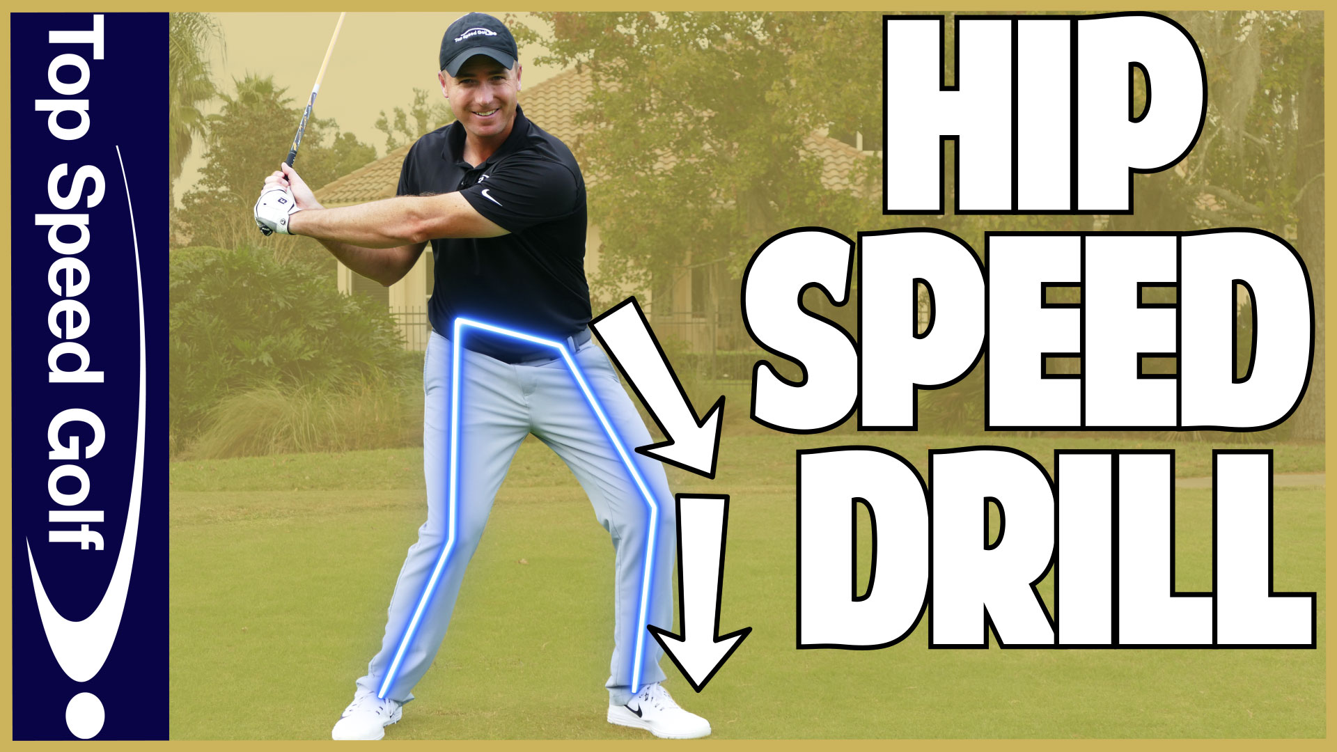 How To Clear Your Hips In The Golf Swing Top Speed Golf