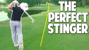 How To Hit A Stinger - Keep It Low And Let It Roll