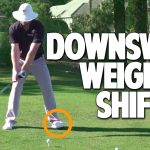 How To Shift Weight In Golf Downswing Solid Contact