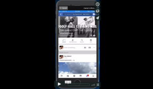 How to post videos to ball striking masterclass facebook group