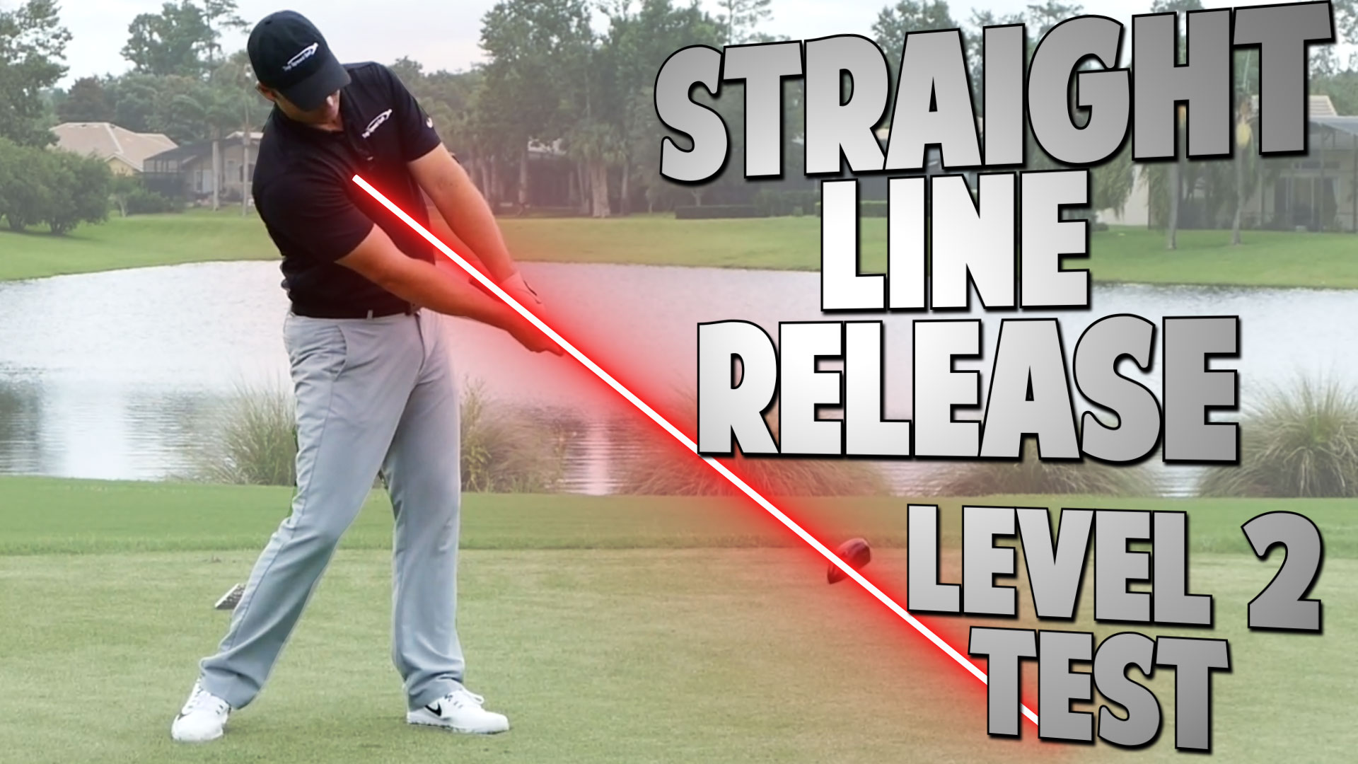 2.5 level 2 test | straight line release • top speed golf