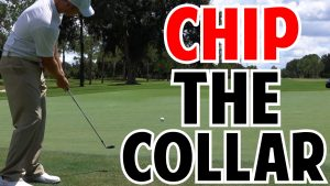 How to chip from the collar in golf