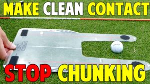How to Make Clean Contact and Stop Chunking Golf Shots