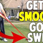 How to Make a Smooth Golf Swing Instead of Hitting At the Ball