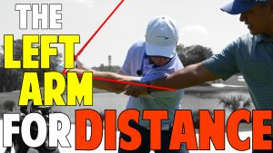 How the Left Arm Works for More Distance