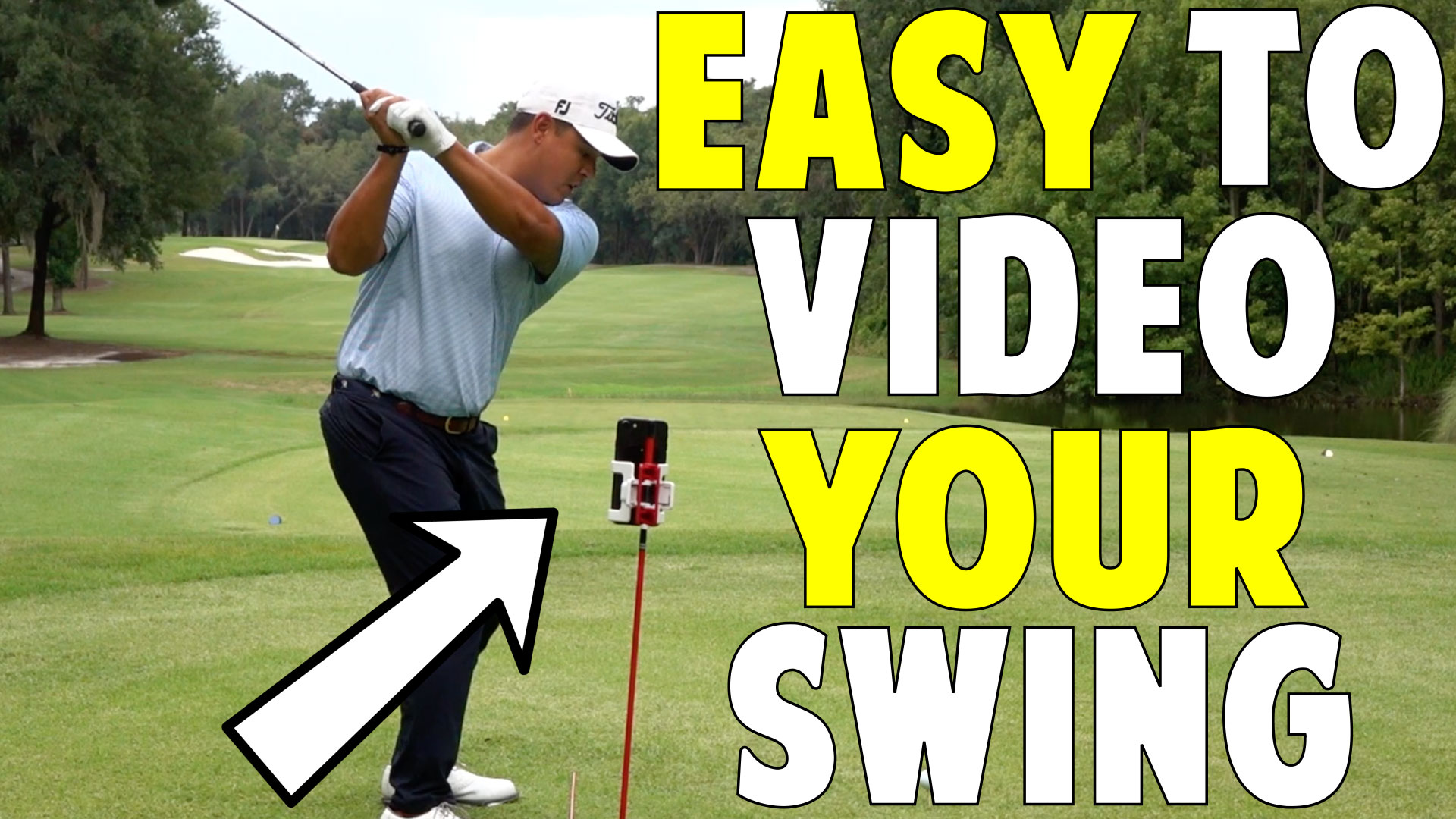 Make Video Taping Your Swing Easy Selfiegolf Top Speed Golf