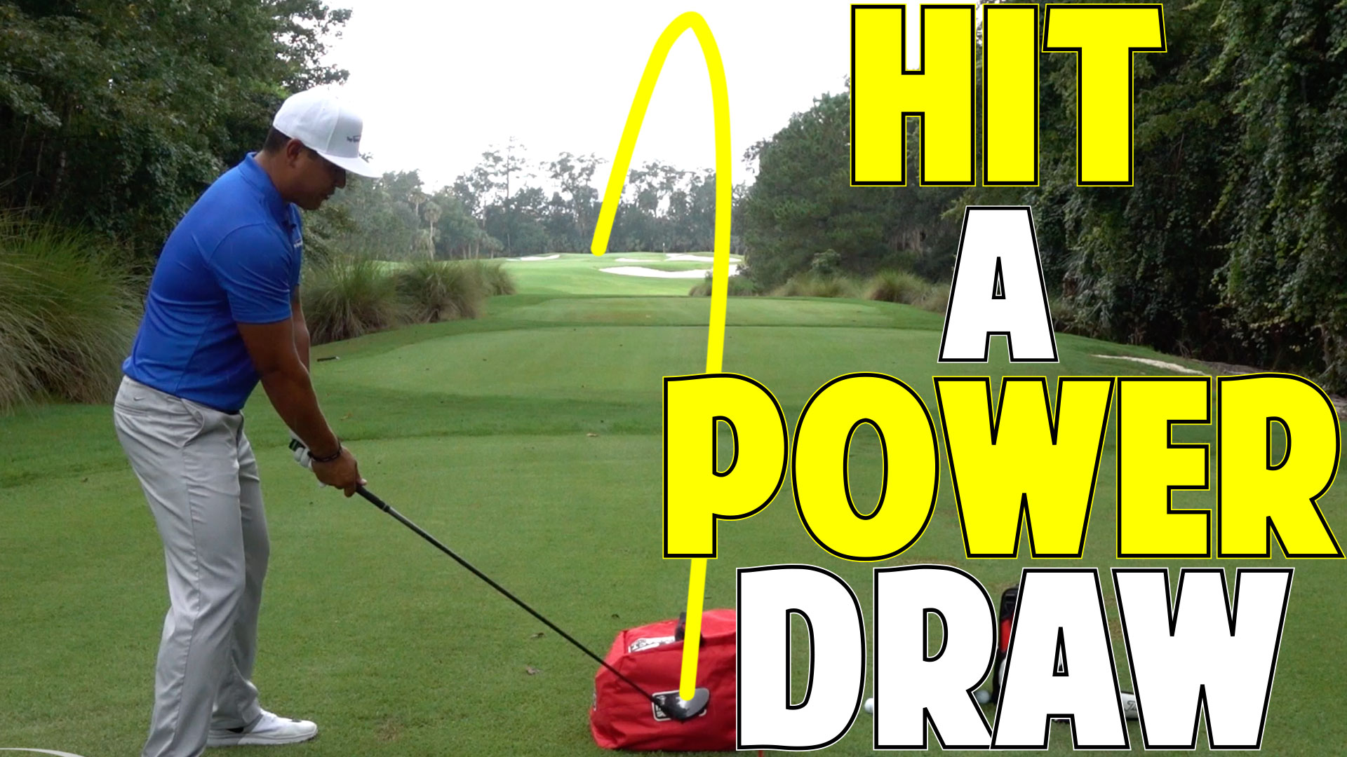 how to hit a power draw in golf
