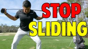 How to Stop Sliding in the Golf Swing