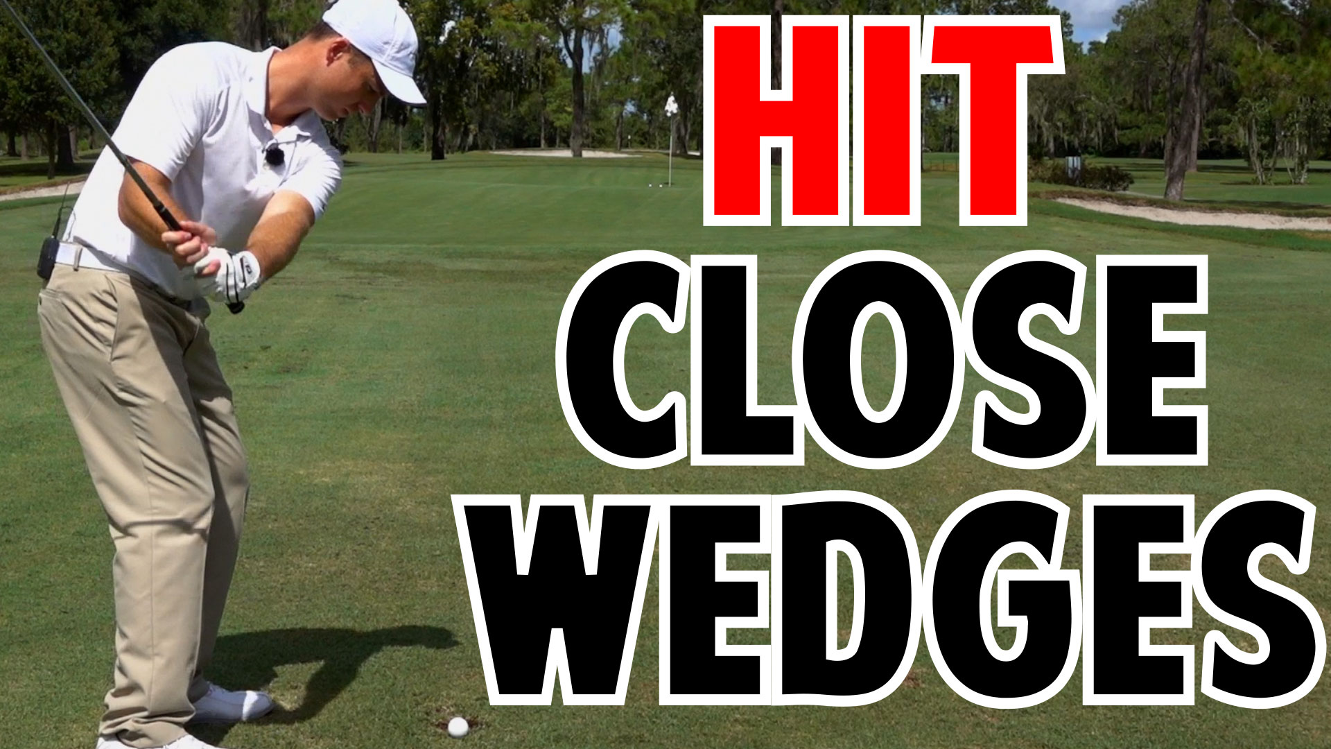 how to hit full wedge shots