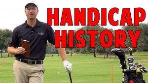 Pre-Program Handicap History