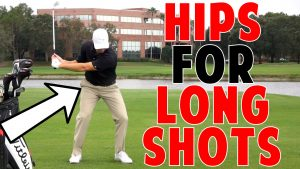 Fast Hips for Long Golf Shots