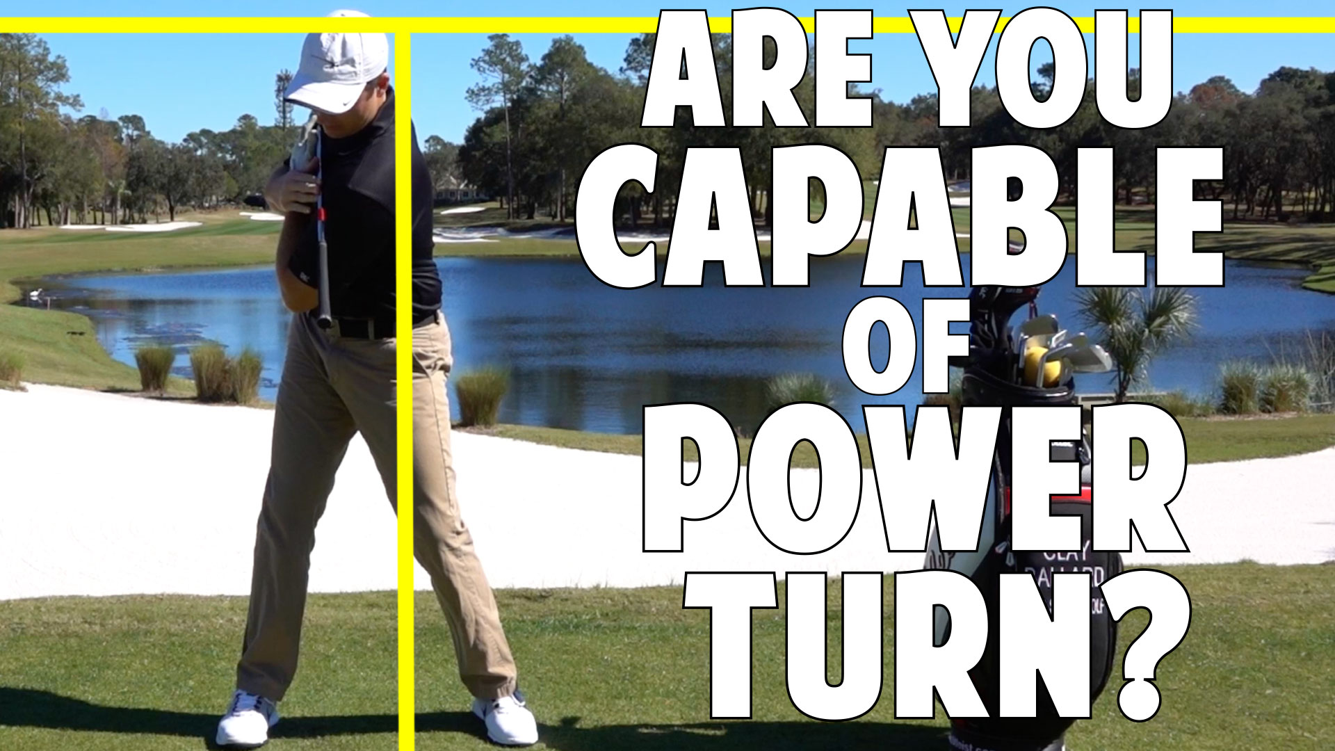 am i physically capable of a power turn? • top speed golf
